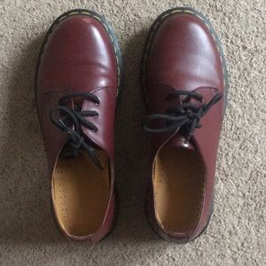 Dr Martens 1461 Cherry Red size 7 US / EU 38